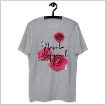 Napoleon Hester founder of Napalm Apparel - Heart & Soul