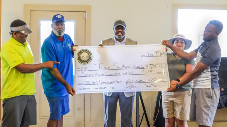 Black Golf Alliance Gives $7,500 to Benefit Texas Southern ...
